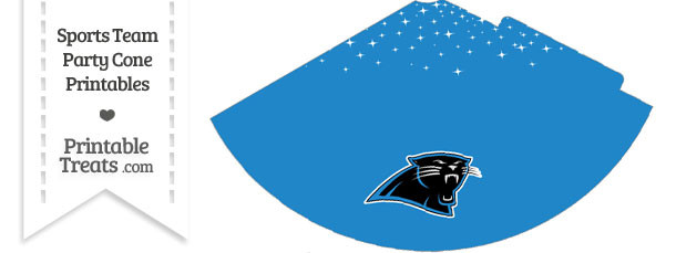 Panthers Party Cone Printable