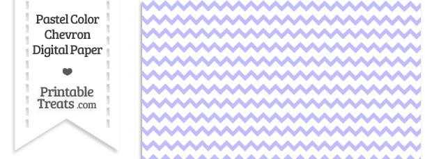 Pastel Purple Chevron Digital Scrapbook Paper