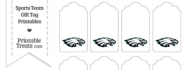 Philadelphia Eagles Gift Tags