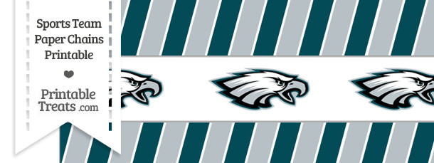 Philadelphia Eagles Paper Chains