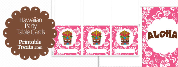 free-pink-hawaiian-party-table-cards