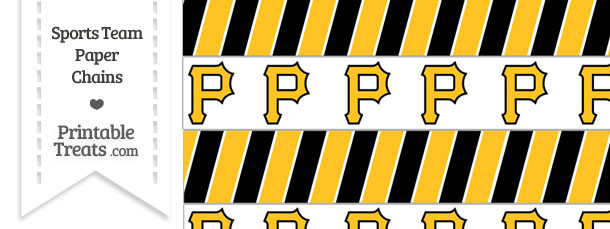 Pittsburgh Pirates Paper Chains