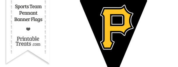 Pittsburgh Pirates Pennant Banner Flag