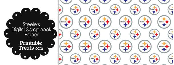 Pittsburgh Steelers Logo Digital Paper