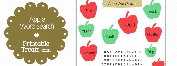 free-printable-apple-word-search