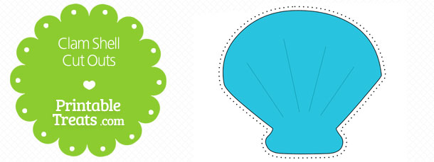 free-printable-blue-clam-shell-cut-outs