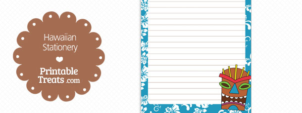 free-printable-blue-hawaiian-stationery