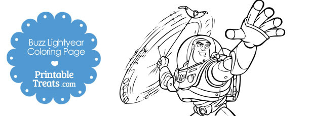 Printable Buzz Lightyear Coloring Page