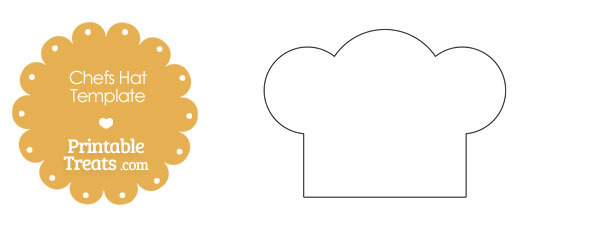 Printable Chefs Hat Outline