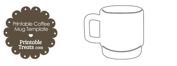 Printable Coffee Mug Template