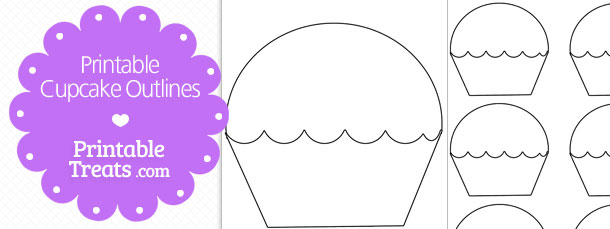 free-printable-cupcake-outlines