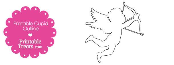 Printable Cupid Outline