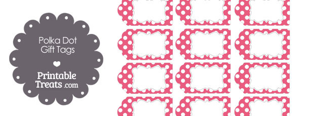 free-printable-dark-pink-polka-dot-gift-tags