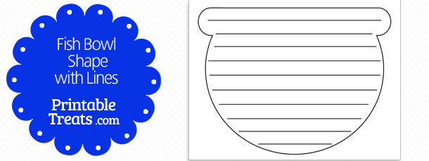 free-printable-fish-bowl-shape-with-lines