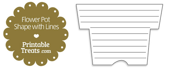 free-printable-flower-pot-shape-with-lines