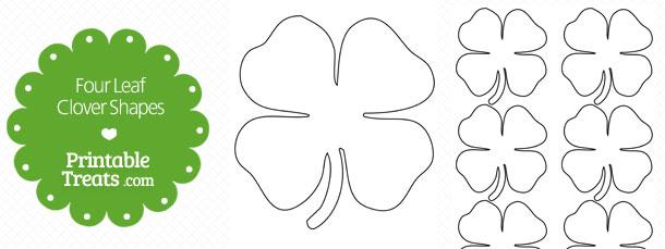 free-printable-four-leaf-clover-shapes