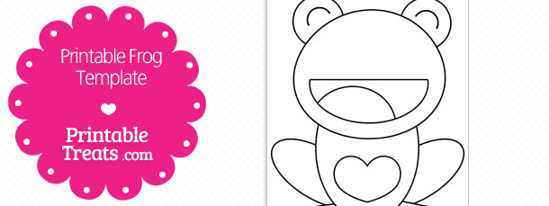 free-printable-frog-with-heart-belly-template