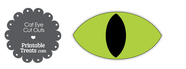 free-printable-green-cat-eye-cut-outs