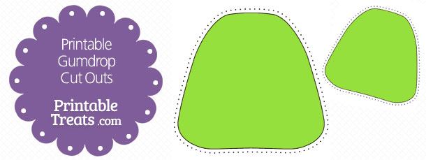 free-printable-green-gumdrop-cut-outs