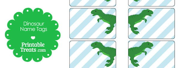 free-printable-green-t-rex-name-tags