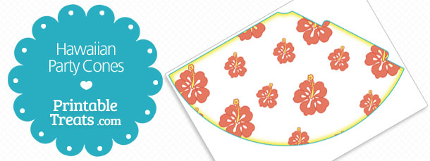 free-printable-hawaiian-party-cones