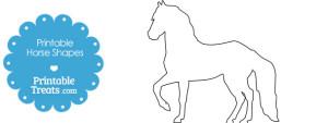 free-printable-horse-shapes