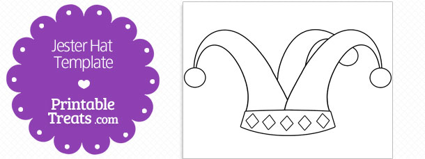 free-printable-jester-hat-shape-template