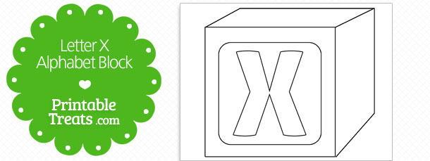 free-printable-letter-x-alphabet-block-template
