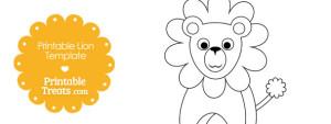 free-printable-lion-template