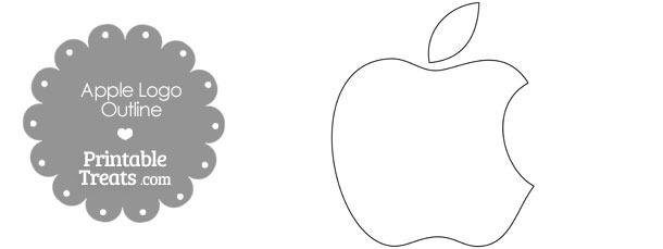 Printable Mac Apple Logo Outline