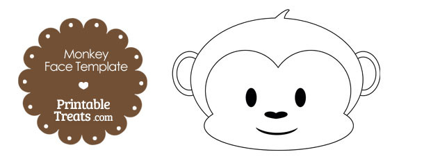 free-printable-monkey-face-template