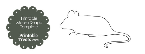 free-printable-mouse-shape-template