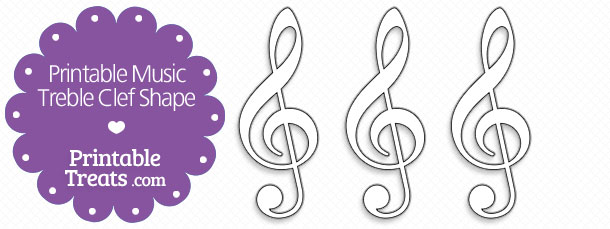 free-printable-music-treble-clef-shape