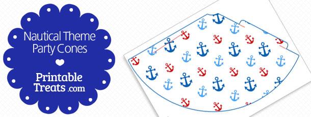 free-printable-nautical-party-cones