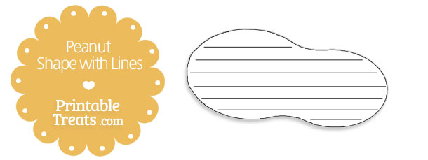 free-printable-peanut-shape-with-lines