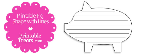 free-printable-pig-shape-with-lines