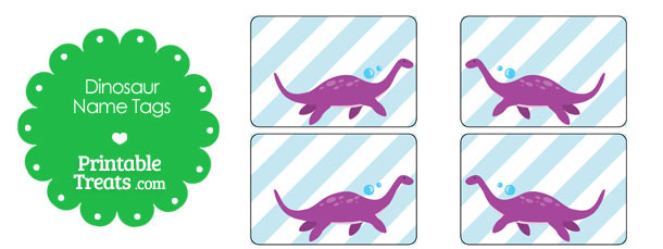 free-printable-plesiosaurus-dinosaur-name-tags