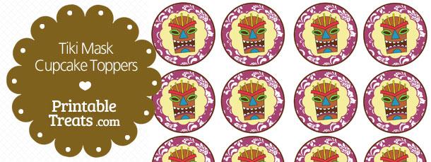 free-printable-purple-tiki-mask-cupcake-toppers
