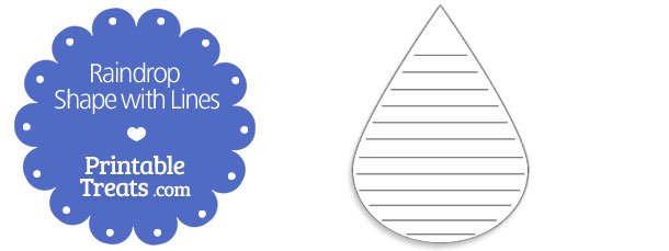 free-printable-raindrop-shape-with-lines