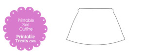 Printable Skirt Shape Template