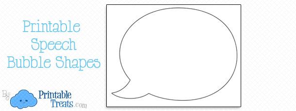 free-printable-speech-bubble-shapes