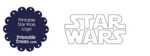 Printable Star Wars Logo Template