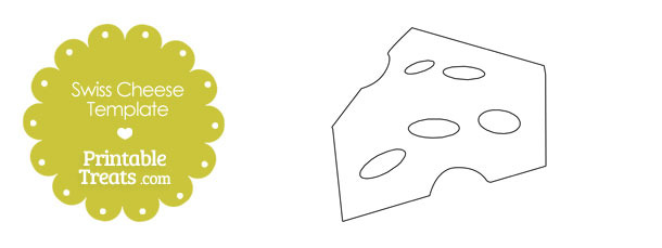 Printable Swiss Cheese Template