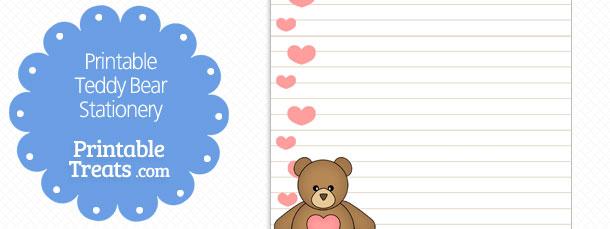 free-printable-teddy-bear-stationery