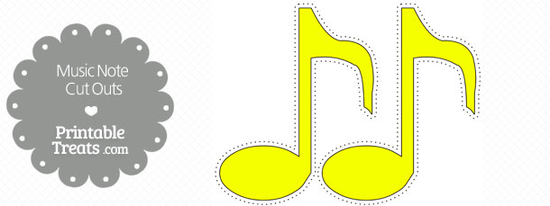 free-printable-yellow-music-note-cut-outs