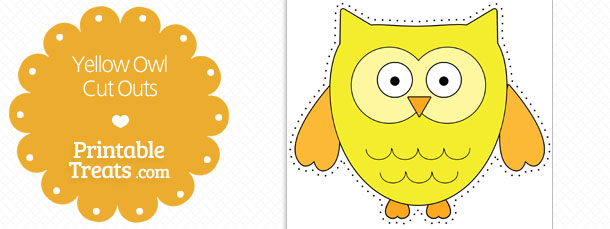 free-printable-yellow-owl-cut-outs
