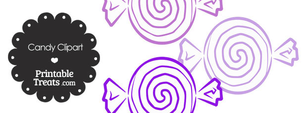 Purple Candy Clipart