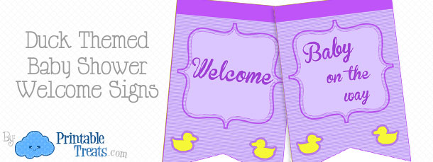 free-purple-duck-baby-shower-welcome-signs