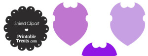 Purple Shield Clipart