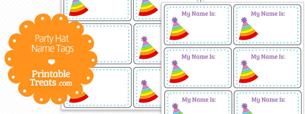 free-rainbow-stripe-party-hat-name-tags